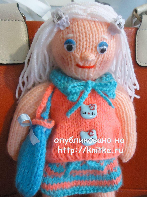Вязаные спицами игрушки работы Алены,  Вязаные игрушки