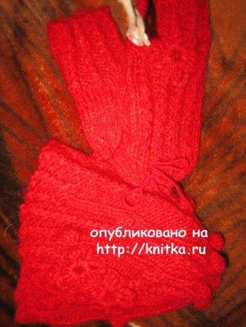 Работы Gunta Minalgo. Вязание спицами.