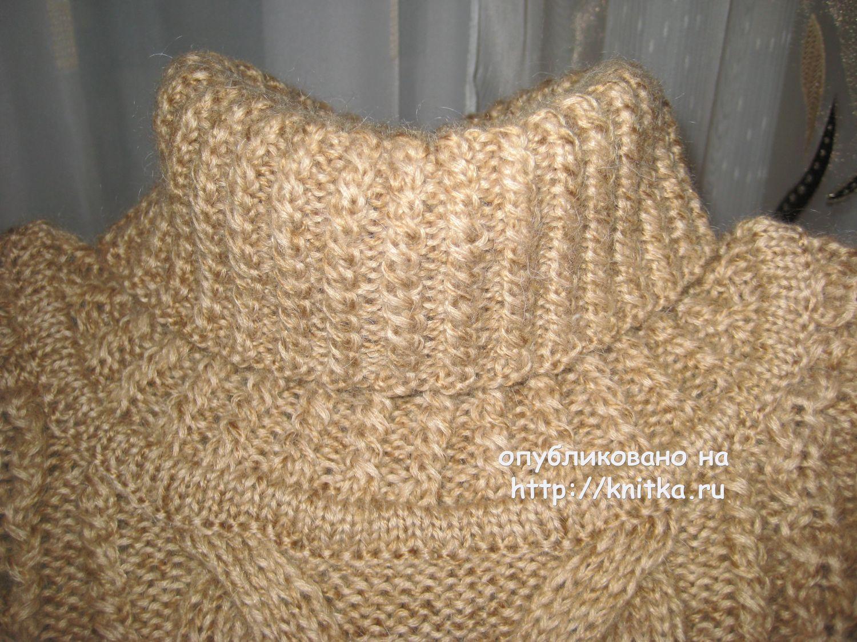 свитер 7202 и схема вязания к нему