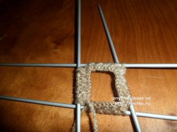 Вязание варежек спицами МК от Ольги