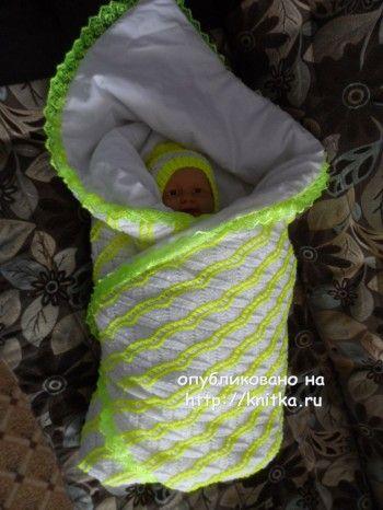 Комплект для малыша - работа Оксаны