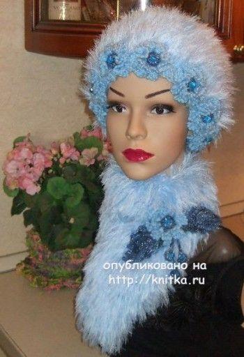 Шубка для снегурочки - работа Марии Казановой