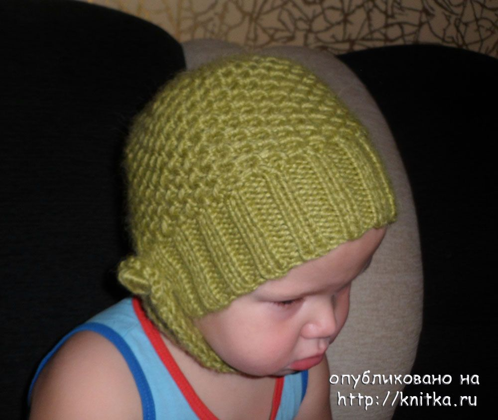 шарф для мальчика схемы и описание