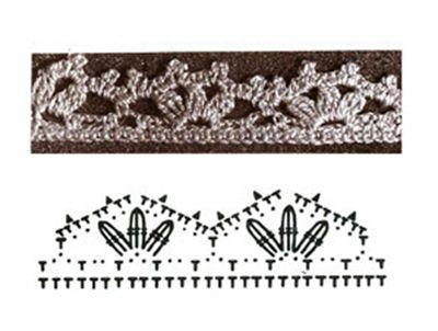 схема вязаняи варежек
