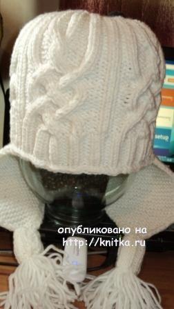 Зимняя шапка - работа Светланы Сальниковой