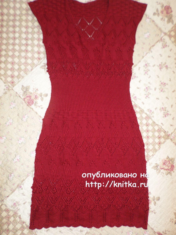 Инструкции по вязанию женских платьев