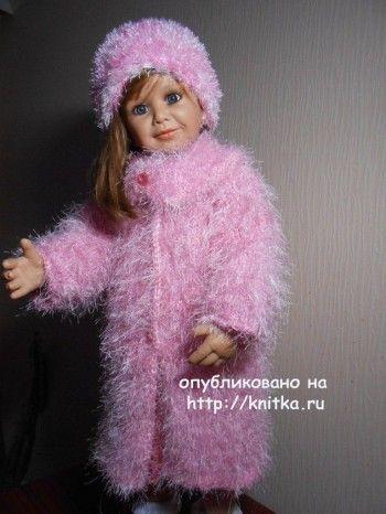 Пальто и шапочка для девочки - работа Татьяны Султановой