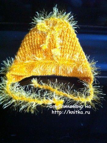 Комплект для новорожденного - работа Любови Жучковой