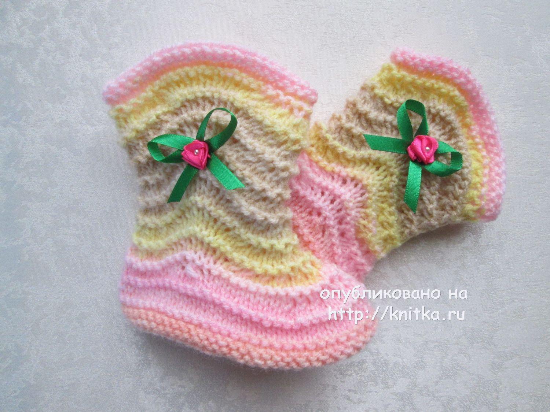 Планета вязания пинетки