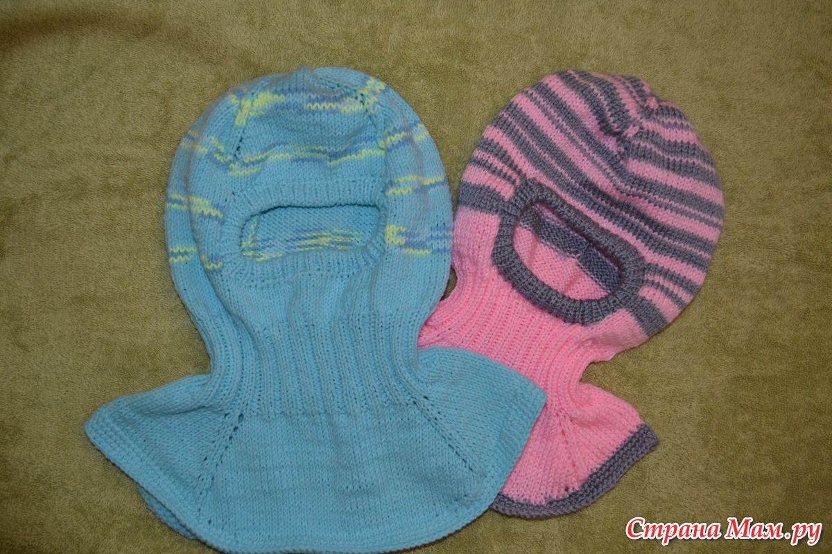Вязанная шапка для новорожденного своими руками 136