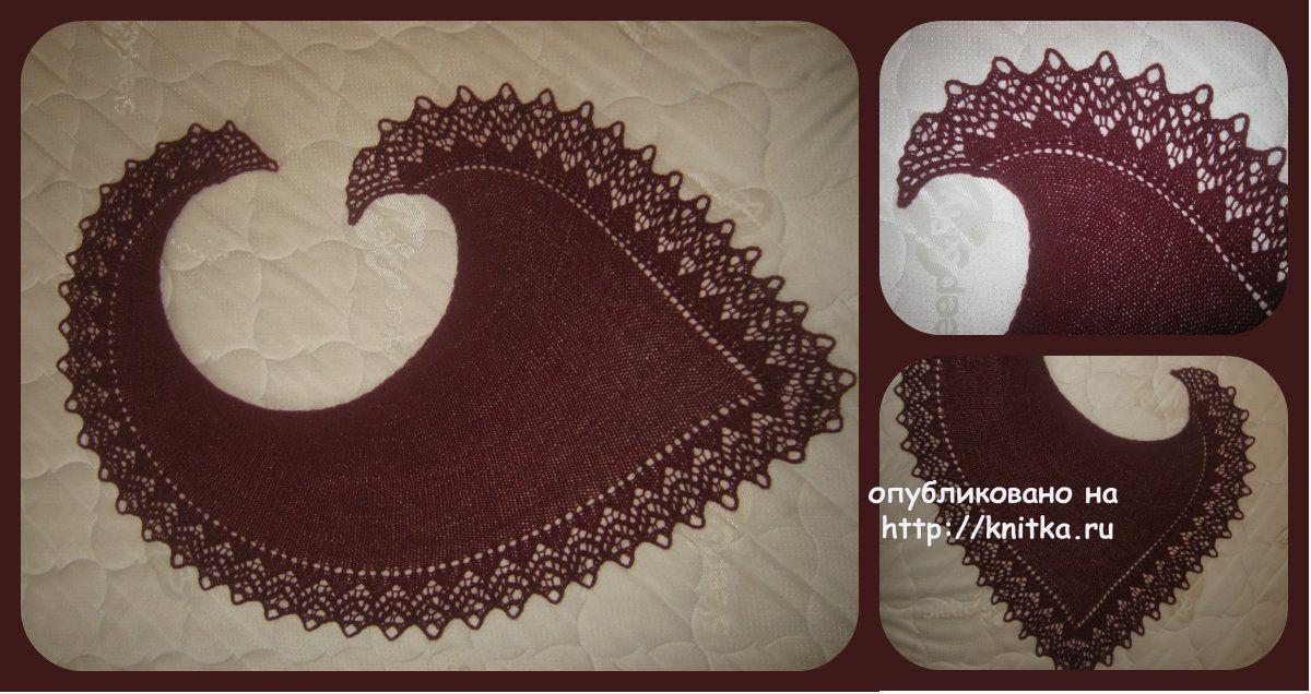Схема вязания фишю:
