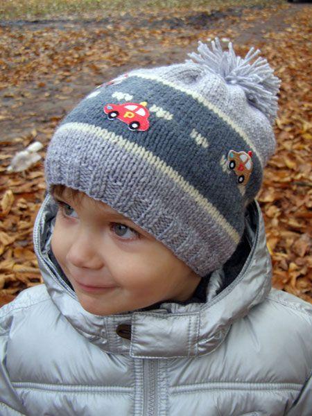 32 шапки для мальчика спицами с описанием и схемами вязания 08185d621d236