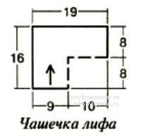 Вязаный купальник - работа Ольги вязание и схемы вязания