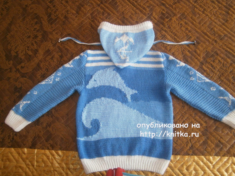 схема вязаного свитера для мальчика
