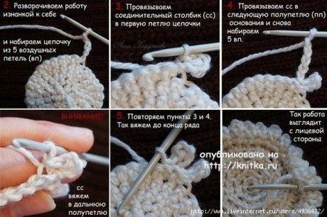 Варежки детские Веселые овечки -работа Ларисы Величко вязание и схемы вязания