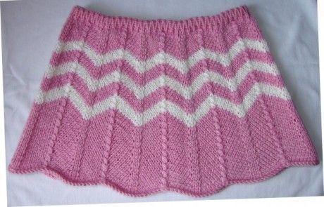 Юбка для девочки спицами. Вязание спицами.