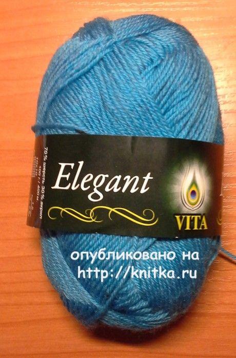 Вязаная спицами кофточка - работа Ярославской вязание и схемы вязания