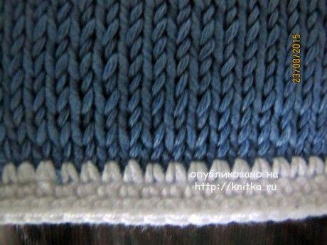 Жакет для девочки. Работа Арины вязание и схемы вязания