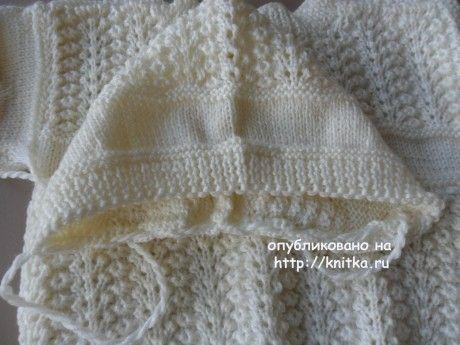 Детский костюм спицами. Работа Светланы Шевченко (Sova Fotina) вязание и схемы вязания