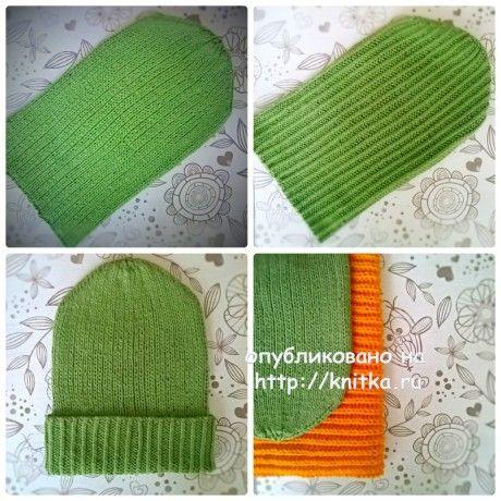 Вязаная шапочка двухсторонняя. Работа Anya вязание и схемы вязания