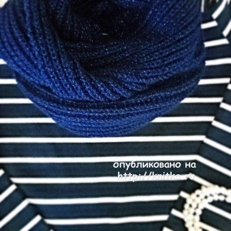Вязаный спицами снуд. Работа Anya вязание и схемы вязания