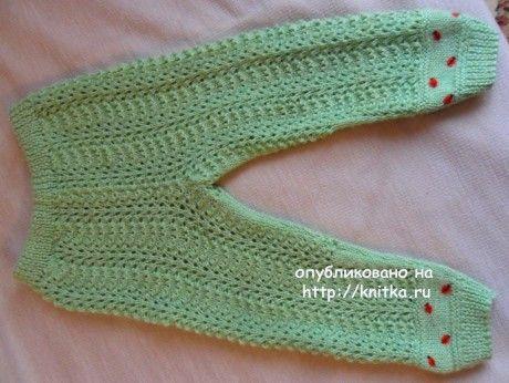 Детский костюм спицами. Работа Светланы Шевченко вязание и схемы вязания