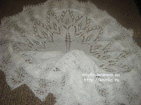 Шаль Марианна. Работы Маргариты вязание и схемы вязания
