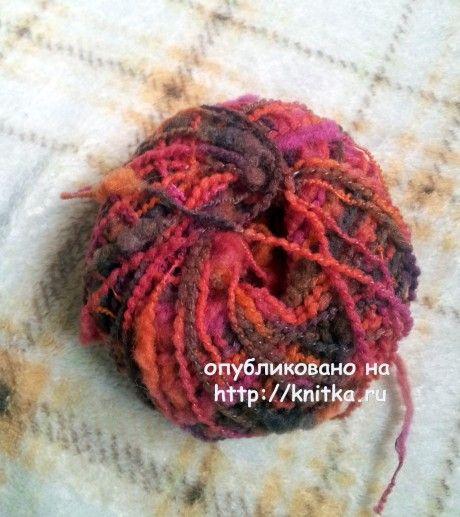 Вязаные спицами варежки. Работа Валентины вязание и схемы вязания