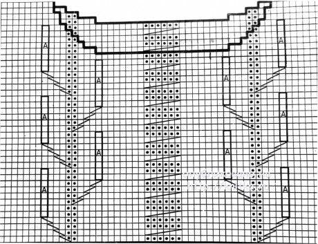 Вязаный спицами пуловер. Работа Светланы Шевченко (Sova Fotina) вязание и схемы вязания