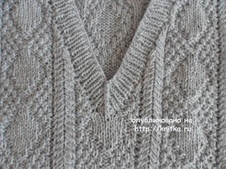 Схемы и пояснения вязания спицами