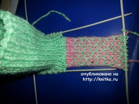 Пинетки спицами. Мастер-класс от Фариды вязание и схемы вязания