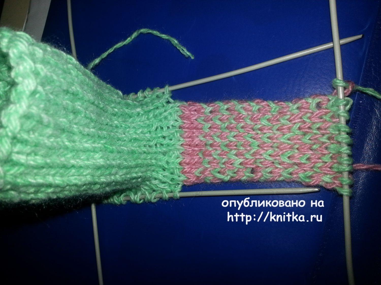 Ютуб вязание спицами для детей пинетки