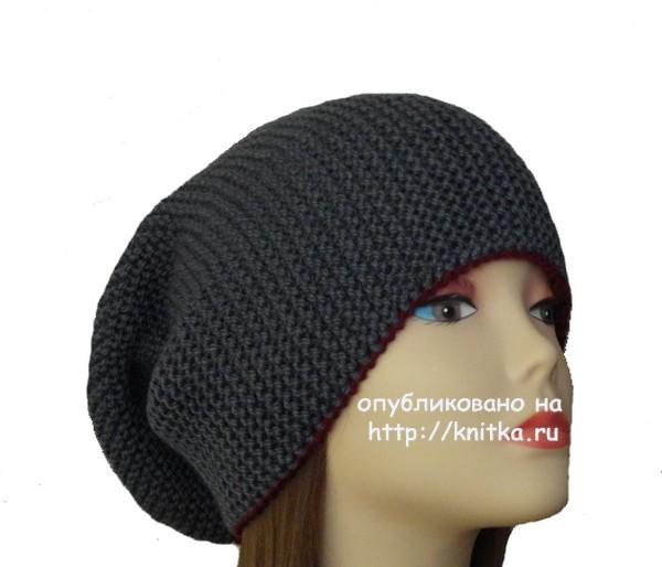 вязание женских шапок бини схемы