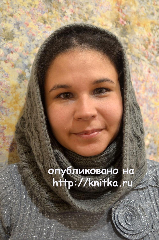 Вязание спицами шарф труба схемы фото