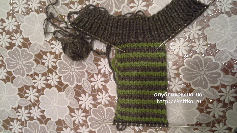 вязаные тапочки работа ольги ярославской вязание для мужчин