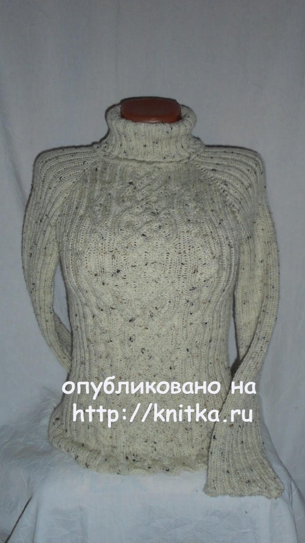 Вязаный женский свитер спицами: схемы с описанием | ls.