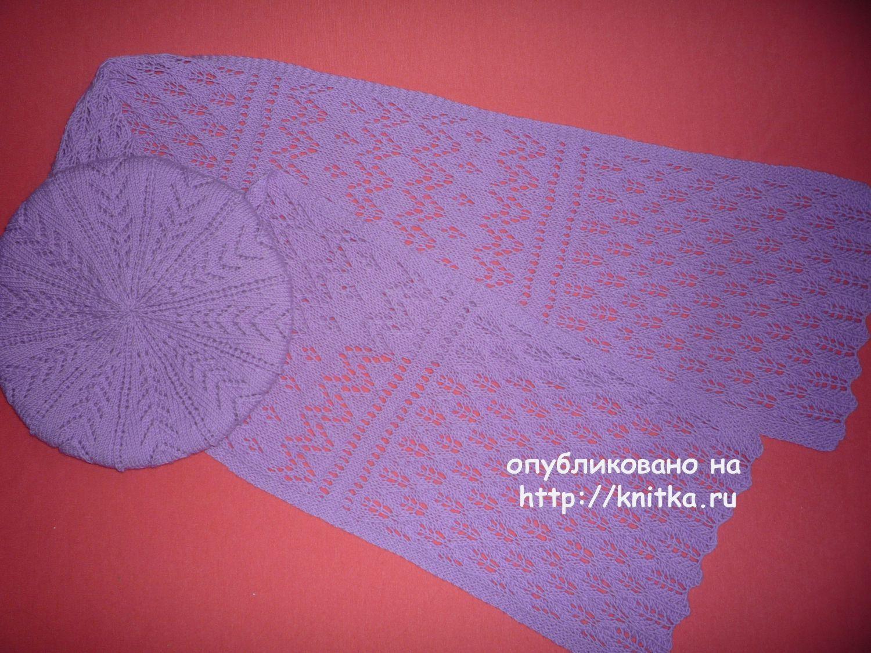 Вязаные спицами носки (следки) – работа Ola la