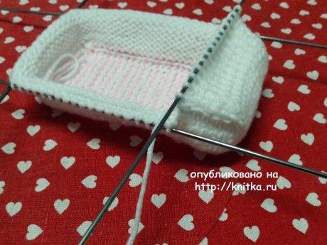 Мастер - класс для начинающих по вязанию спицами пинеток Софья