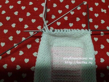 Пинетки Софья. Мастер - класс от Оксаны Усмановой вязание и схемы вязания