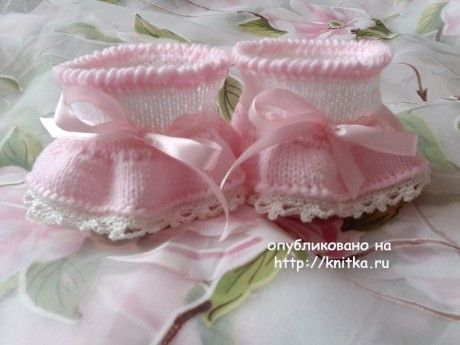 knitka-ru-pinetki-sof-ya-master---klass-ot-oksany-usmanovoy-97236-460x345 Как связать пинетки для новорожденного спицами? Пошаговые мастер-классы для начинающих