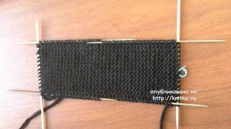 Следки спицами, простой способ вязания для начинающих