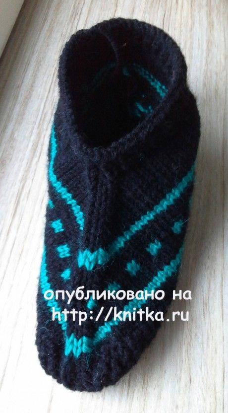 Следки спицами. Работа Ольги Ярославской вязание и схемы вязания