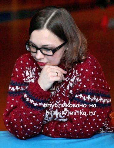 Из чего вяжут свитера, джемперы, пуловеры?