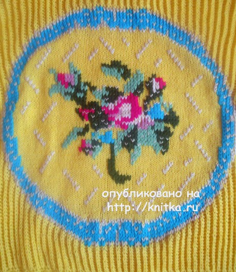 Копия свитера Антонио Марраса. Работа Лилии вязание и схемы вязания