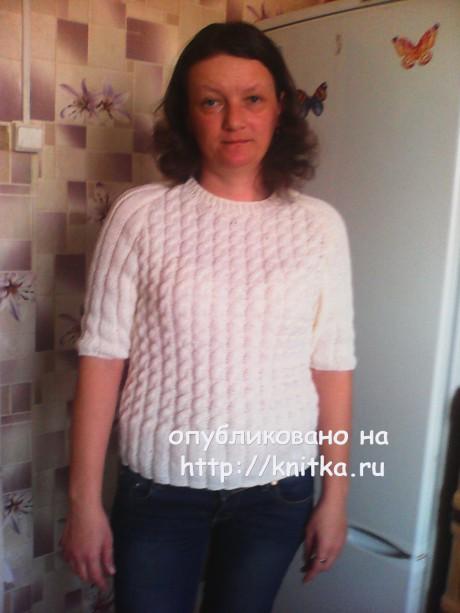 Работа Светланы Черняк. Вязание спицами.
