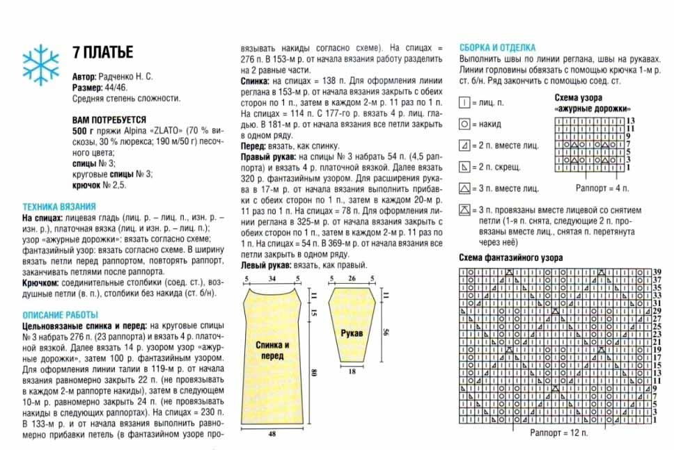 Вязание девушки крючком с описанием и схемами
