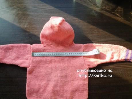 Детский джемпер Лунтик. Работа Галины вязание и схемы вязания