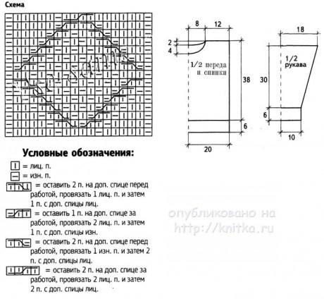 Свитер для мальчика. Работа Валентины Калдышевой вязание и схемы вязания