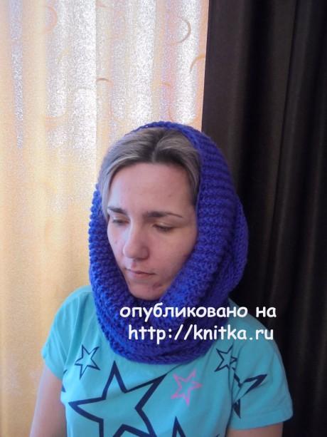 Шапка и снуд спицами. Работы Татьяны Ивановны вязание и схемы вязания