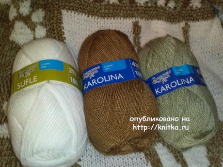 Вязаный плед Коты. Работа Ирины вязание и схемы вязания